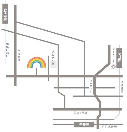 京浜横浜幼稚園 地図